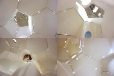 オマケ画像:宇宙船のような内部空間