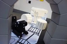 Interiorlifestyleliving 2012 cocolomiブースにて お出迎えは柴田映司デザインのWAN(ワンちゃん)