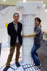 今中隆介(右)、柴田映司(左)楽しい発表会でした