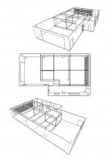3D CADによる構造パース