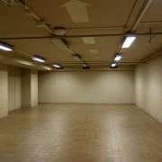 これは展示前の空間、空間構成には苦労しました